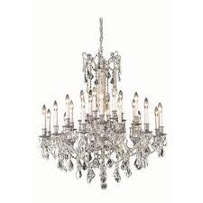 Elegant Crystal Chandelier 36 Inch Crystal Chandelier Bellacor