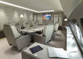 the ultimate boardroom in the sky conference rooms in airplanes