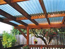 Pergola Plastic Roof by Outdoor Pergola Roof Materials Wearefound Home Design