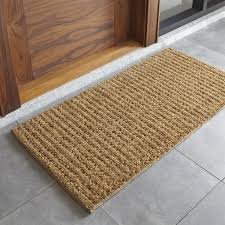 Crate And Barrel Rug Natural Coir Doormat Crate And Barrel