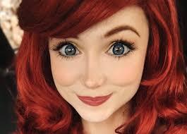 ariel from the little mermaid makeup tutorial costume makeup