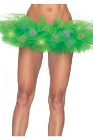light up christmas skirt green led light up tutu amiclubwear costume online store