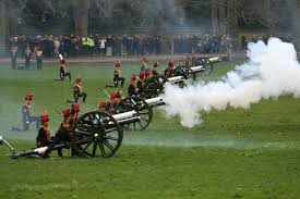 royal gun salutes the royal parks