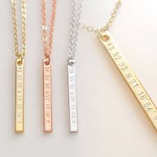 engraved necklaces for best 25 necklace for ideas on personalized