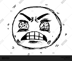 Frustrated Meme - frustrated face meme illustration vector photo bigstock