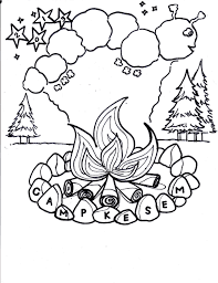 free printable summer camp coloring pages summer camp coloring