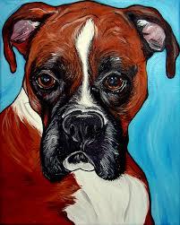 boxer dog art dog art u201d woof factory