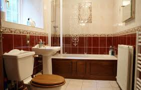 red bathroom blinds on with hd resolution 1024x768 pixels best