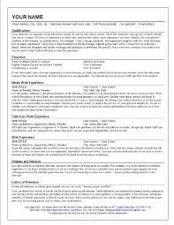 cover letter child caregiver resume child caregiver resume sample