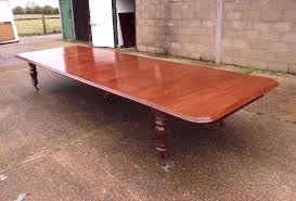 3 Metre Dining Table Mahogany Extending Dining Table 3 Metre Antique Dining Table Large