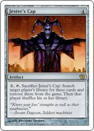 jesters mask jester s cap magic card