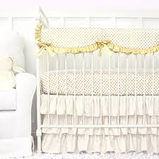 Girls Nursery Bedding Sets by Going All Gold Our Gold Dot Sparkle Baby Bedding Is Perfect For A