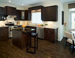 Kitchen Hardwood Floors by Flooring Types Throughout Ideas