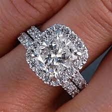 what are bridal set rings best 25 3 diamond engagement rings ideas on