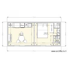 plan cuisine stunning plan studio 20m2 images amazing house design