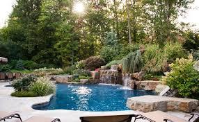 Garden Pool Ideas Garden Design With Pool Dragonswatch Us