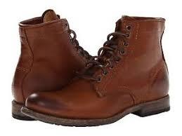 s boots lace s frye boots plain lace up boot cognac leather 86070 cog