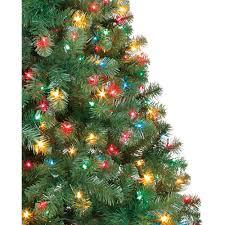 holiday time pre lit 6 5 u0027 madison pine green artificial christmas