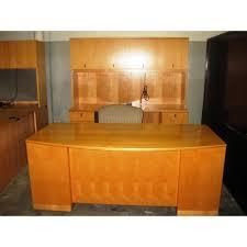 Maple Reception Desk by Paoli Maple Veneer Desk D1753 L Eb Current Selection Desking