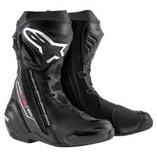 motorcycle road boots alpinestars supertech r motorcycle motorbike riding boot ebay