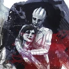 Mass Effect Kink Meme - through love s eternity mass effect femshepard liara passion