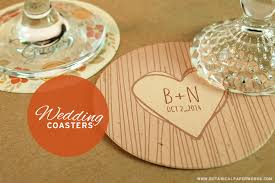 wedding coasters new seed paper wedding coasters botanical paperworks
