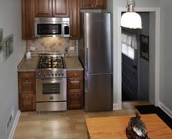 black kitchen cabinets installed for amusing small penthouse