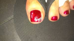 fancy toe nail designs how you can do it at home pictures