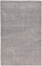 Modern Shaggy Rugs Silver Shaggy Carpet Soft Modern 5cm Pile Thick Contemporary Area