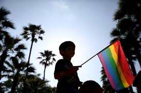 Holding The Flag Photos Cities Around The World Celebrate Lgbt Pride Pbs Newshour
