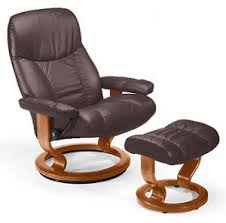 Recliner Chair Small Stressless皰 Consul Small Recliner And Ottoman Classic Base Shop Now