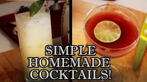 cocktail drinks recipe easy easy cocktail recipes to make at home behind the drink youtube