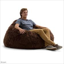 big joe 132 inch teardrop shag bean bag chair by comfort research