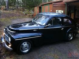 classic volvo pv 544 1958 black good condition classic swedish european car vintage