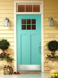 classic red front door bright yellow doors colored blue bright