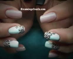 animal print nails dreaming of nails