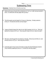 elapsed time worksheets 4th grade telling time worksheets teaching