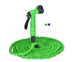 25 50 75 100 feet latex expanding flexible garden water hose with