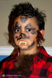 werewolf homemade halloween costume for boys photo 2 2