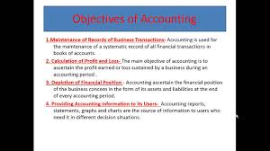 accounting notes for class 11 youtube