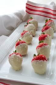White Chocolate Dipped Strawberries Recipe Snowberries White Chocolate Dipped Strawberries Recipe