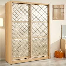 Sliding Door Wardrobe Cabinet Furniture Children Solid Wood Sliding Door Wardrobe Sliding Door