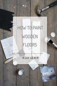 the 25 best painted floors ideas on painted wood