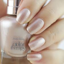 give your nails spa luxury with new sally hansen color therapy