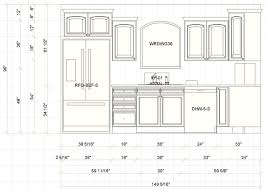 Kitchen Cabinets Depth by Kitchen Dimensions Pdf Kitchen Design
