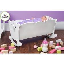 Free Wooden Baby Doll Cradle Plans by Kidkraft Lil U0027 Doll Cradle Simply Baby Furniture 35 00