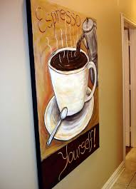 The Modern Artist Coffee wall decor coffee collectible art