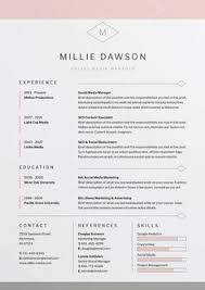 resume cv ashley resume cv cover letter template and letter