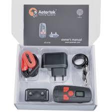 aetertek dog shock collar e collar dog training collar electric