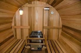 amazon com almost heaven barrel sauna 6 u0027 beauty
